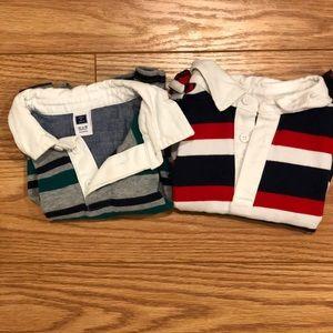 Janie and jack rugby shirt bundle